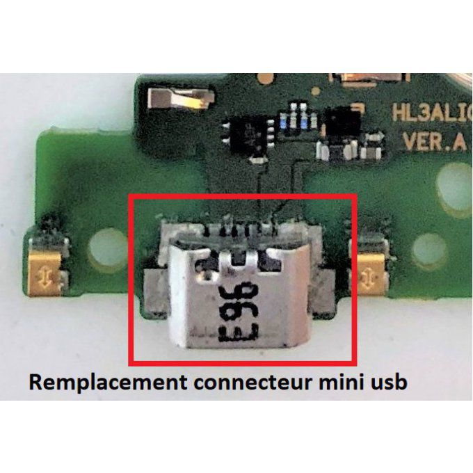 Remplacement Micro USB Standard