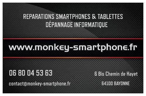Contacter Monkey Smartphone Accessoires Et Reparation De Smartphes